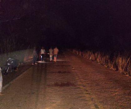 Morador da zona rural é morto após a moto que conduzia ser atingida por um carro na MT-430 em Confresa
