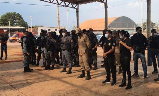 Bombeiros militares de Confresa colaboram em operação de combate à criminalidade
