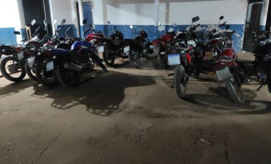 Polícia Militar apreende pelo menos 13 motos durante o fim de semana em Confresa