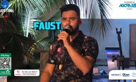 Luciano Faustine realizará 3ª live em prol do Cantinho da Esperança