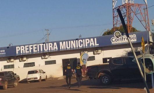 PF deflagra 4° fase da Operação Tapiraguaia e faz buscas na Prefeitura de Confresa e Secretarias de Saúde e Educação