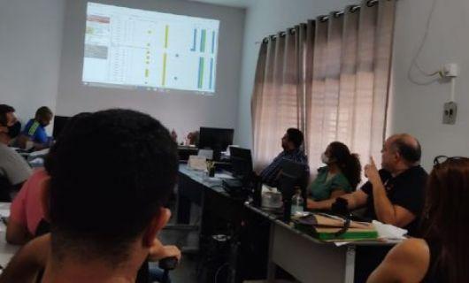 Policiais civis de Barra do Garças participam de apresentação sobre monitoramento de reeducandos