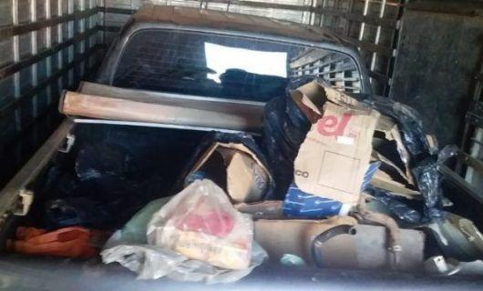 Motorista é preso por transportar camionete com documentação adulterada