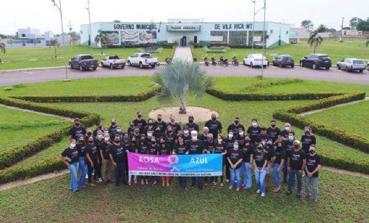 Vila Rica adere campanhas de prevenção ao câncer de mama e de próstata