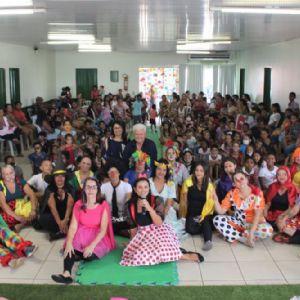 Secretaria de Assistência Social de Vila Rica realiza evento alusivo ao dia das crianças