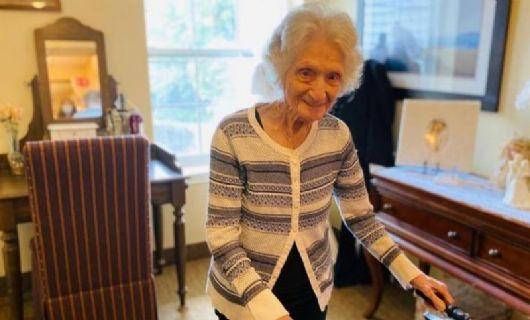 Mulher de 107 anos sobreviveu à gripe espanhola e ao coronavírus