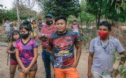 Agricultura de Confresa entrega criadouro com espécimes prontos para serem administrados por povo indígena na Aldeia Tapirapé