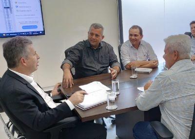 Prefeito de Vila Rica cumpre agenda em Cuiabá e Estado garante mais 3 milhões e meio de reais em emenda para o município