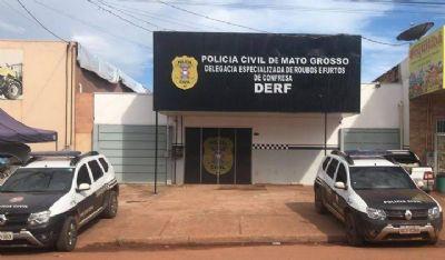 Foragido do Tocantins é preso pela DERF em Confresa
