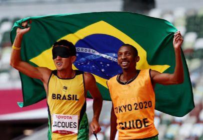 Brasil conquista 100ª medalha de ouro na história das Paralimpíadas