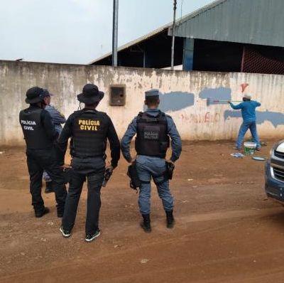 Oito prisões em flagrante são realizadas durante operação de combate a facções criminosas