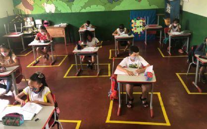 Aulas nas escolas municipais de Vila Rica retornam no formato híbrido