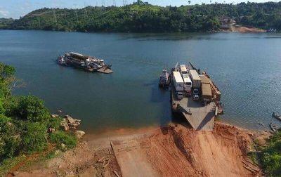 Tráfego segue reduzido na Balsa do Xingu até amanhã (15)