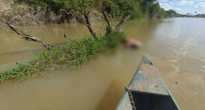 Corpo de desconhecido é encontrado boiando em rio em Santana do Araguaia