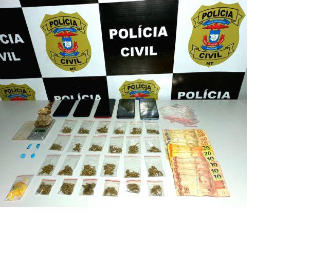 Polícia Civil prende integrantes de organização criminosa em Confresa