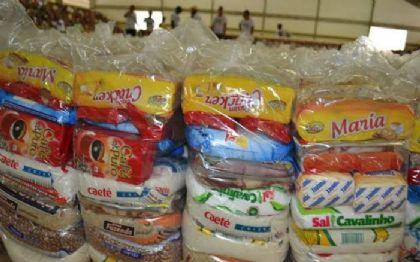 Escolas estaduais de Confresa dão início à entrega dos kits de alimentação