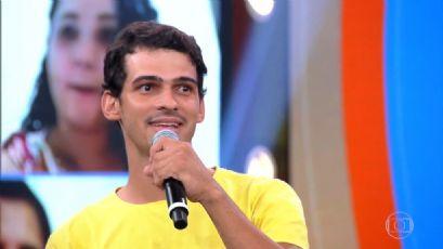 Participação no Caldeirão do Huck faz popularidade de cantor de Canarana disparar