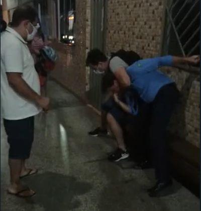 Vídeo de policial civil de Canarana agredindo motorista de ônibus viraliza; PJC se manifestou sobre o caso