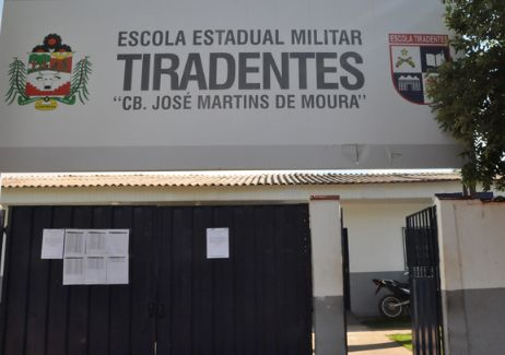 Escolas Militares Tiradentes de Confresa e mais seis oferecem 499 novas vagas em MT