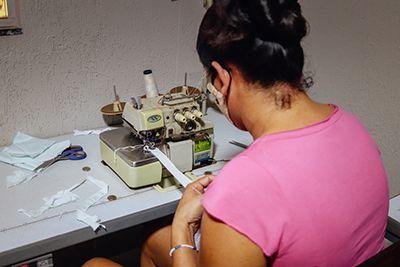 Assistência Social de Confresa realiza oficina de costura para famílias atendidas pelo Cadastro Único do município