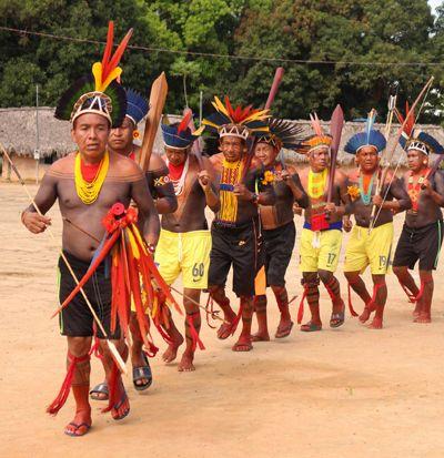 Manifestação indígena na Aldeia Urubu Branco tem reafirmação da luta pela preservação das terras e do meio ambiente no Dia do Índio