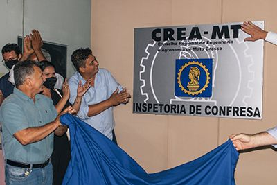 Beneficiando mais de 500 profissionais das áreas de Engenharia e Arquitetura, Inspetoria do Crea-MT é inaugurada em Confresa