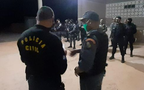 Sesp deflagra operação para enfrentamento a facções criminosas em Confresa e região