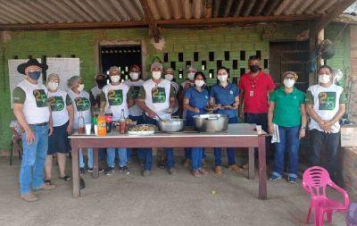Pequenos produtores são qualificados através do Curso de Embutidos e Defumados de Carne Suína em Água Boa