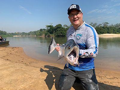 Presidente da Funai participa de visita técnica a projeto referência de pesca esportiva em Canarana