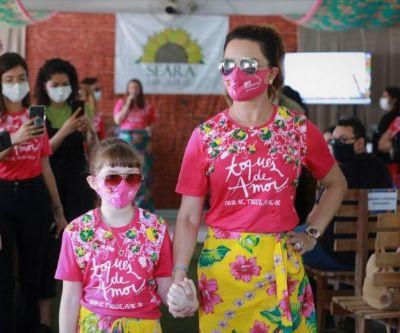 Primeira-dama de MT participa de inauguração do 'Núcleo Florescer' do projeto Chita & Fuxico
