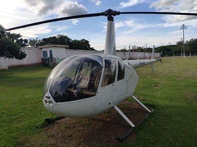 Sesp realiza leilão de helicóptero, aeronave e veículos apreendidos em operações contra o tráfico