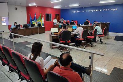 Vereadores de Água Boa aprovaram recursos em Sessão Extraordinária da Câmara