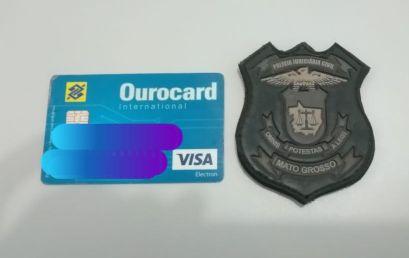 Homem que usava cartão roubado para fazer compras é preso pela PJC em Nova Xavantina