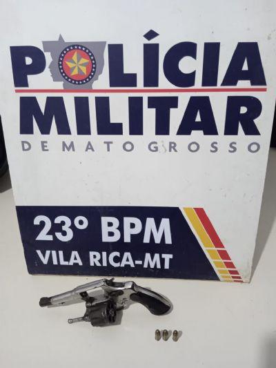 Suspeito de ameaçar policiais com arma de fogo é morto a tiros pela PM em Vila Rica