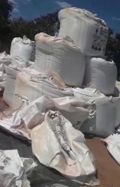 Em dois furtos de adubo em Canarana e Querência, prejuízo para os produtores chega a um milhão de reais
