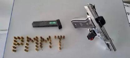 Durante patrulhamento rural, homem é preso por porte ilegal de arma em Canarana
