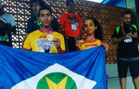 Atletas do Araguaia se destacam no atletismo dos Jogos Escolares da Juventude, em Blumenau