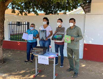 Estudantes da rede pública municipal de Barra do Garças participam de projeto que mistura literatura e artes visuais