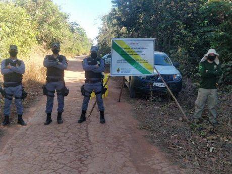 Operação conjunta da PM e FUNAI realiza patrulhamento no entorno de TI no Xingu para prevenir disseminação do Covid-19