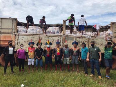 Programa REM Mato Grosso apoia a segurança alimentar dos indígenas no estado