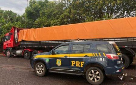 PRF apreende madeira ilegal na região do Araguaia