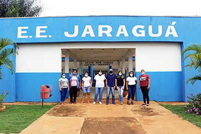 """Comitiva de Água Boa visita o projeto """"Escola Agrícola 4.0"""" em Curitiba em busca de novas experiências"""