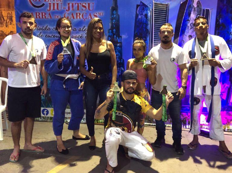 Equipe de Nova Xavantina vence Open de Jiu-Jitsu em Barra do Garças