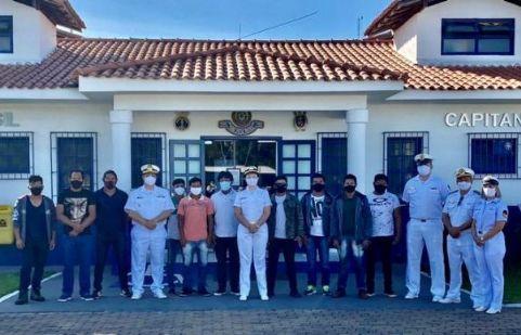 Indígenas da balsa de travessia em São José do Xingu participam de curso para formação de aquaviários em Cuiabá