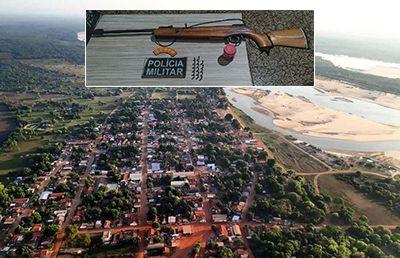 Menor com Síndrome de Down atira contra adolescente de 13 na Ilha do Bananal