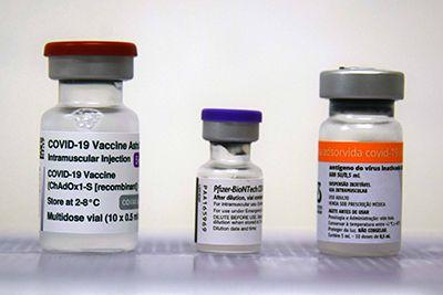Brasil tem 33% da população imunizada contra a covid-19