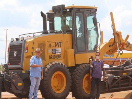 Porto Alegre do Norte recebe maquinários do estado de Mato Grosso
