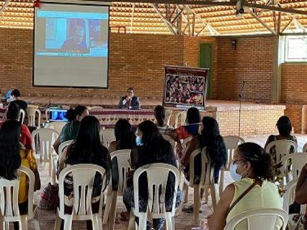Seminário discute violência doméstica e familiar contra mulher indígena em São Félix do Araguaia
