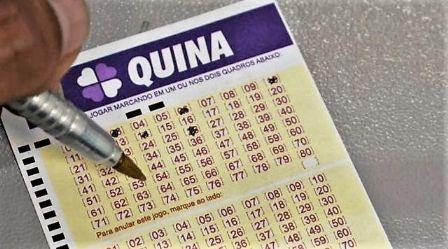 Apostador de Canarana ganha R$ 8,9 mil na Quina