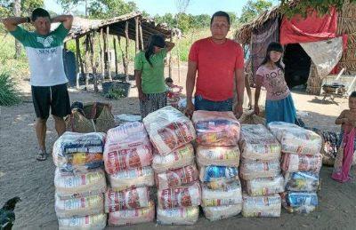 Governo Federal entrega 700 mil cestas básicas a indígenas de todo o país